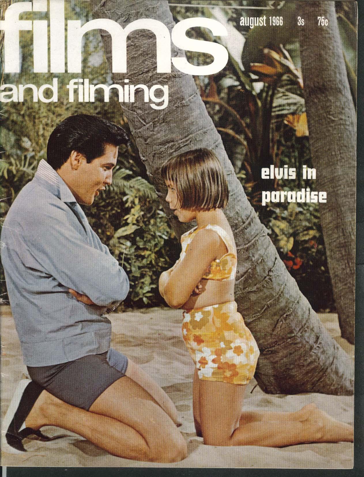 FILMS & FILMING Elvis Orson Welles Falstaff 8 1966