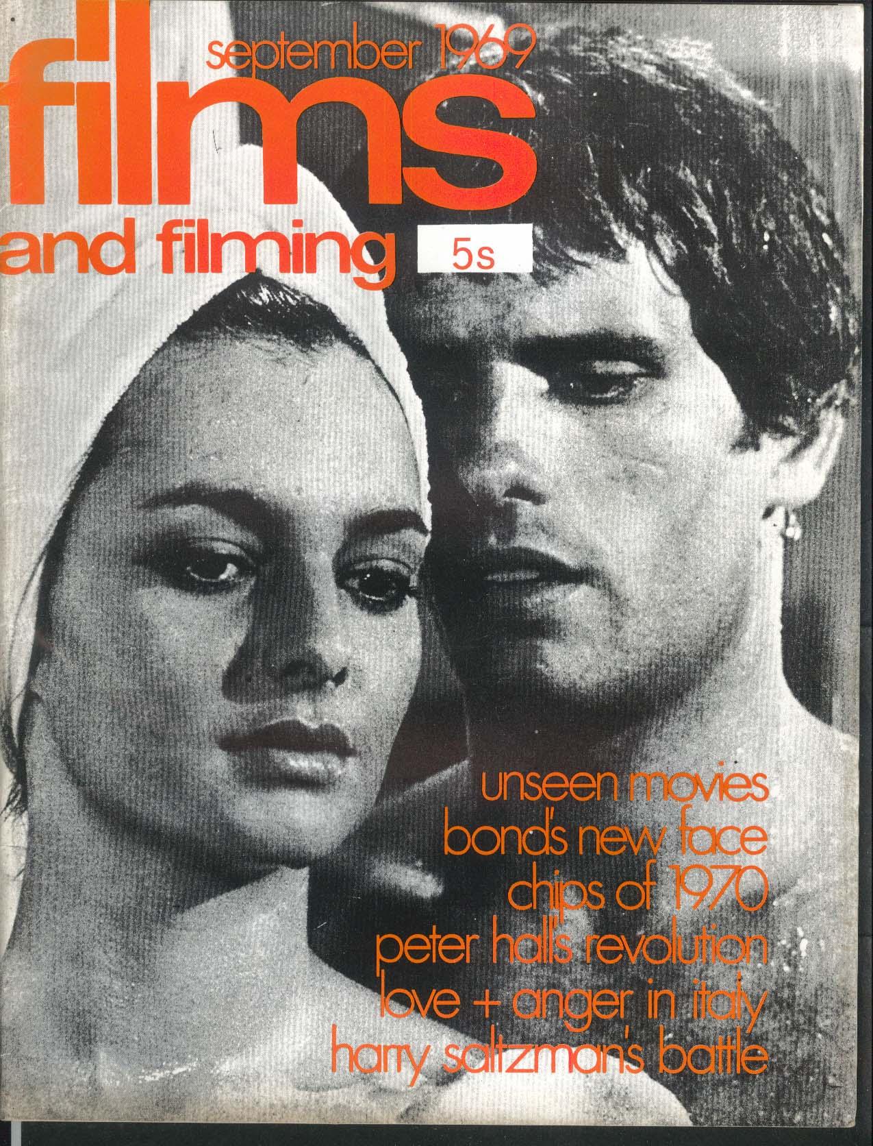FILMS & FILMING James Bond Peter Hall Harry Saltzman 9 1969