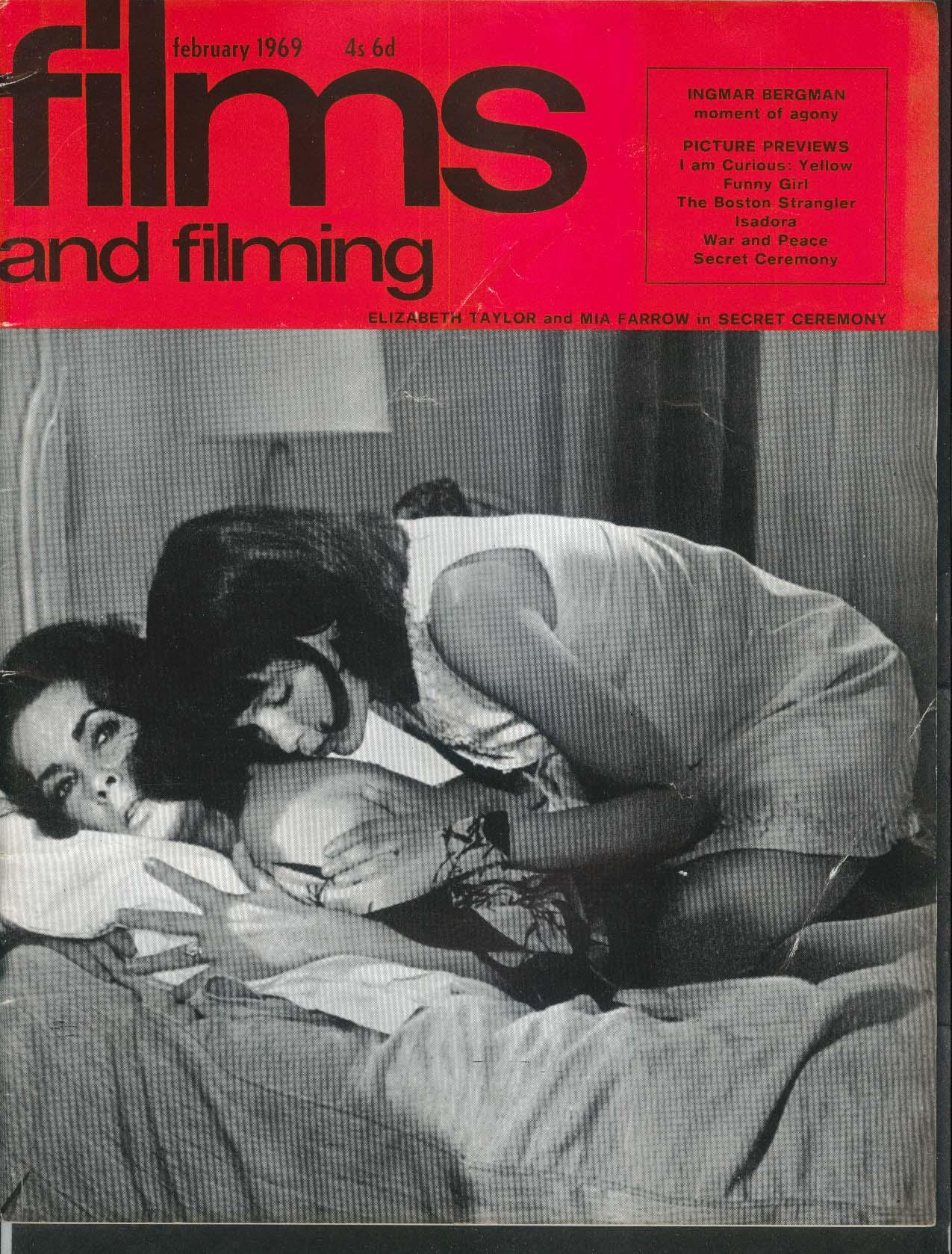 FILMS & FILMING Ingmar Berman Curious Yellow Funny Girl Danger-Diabolik + 2 1969