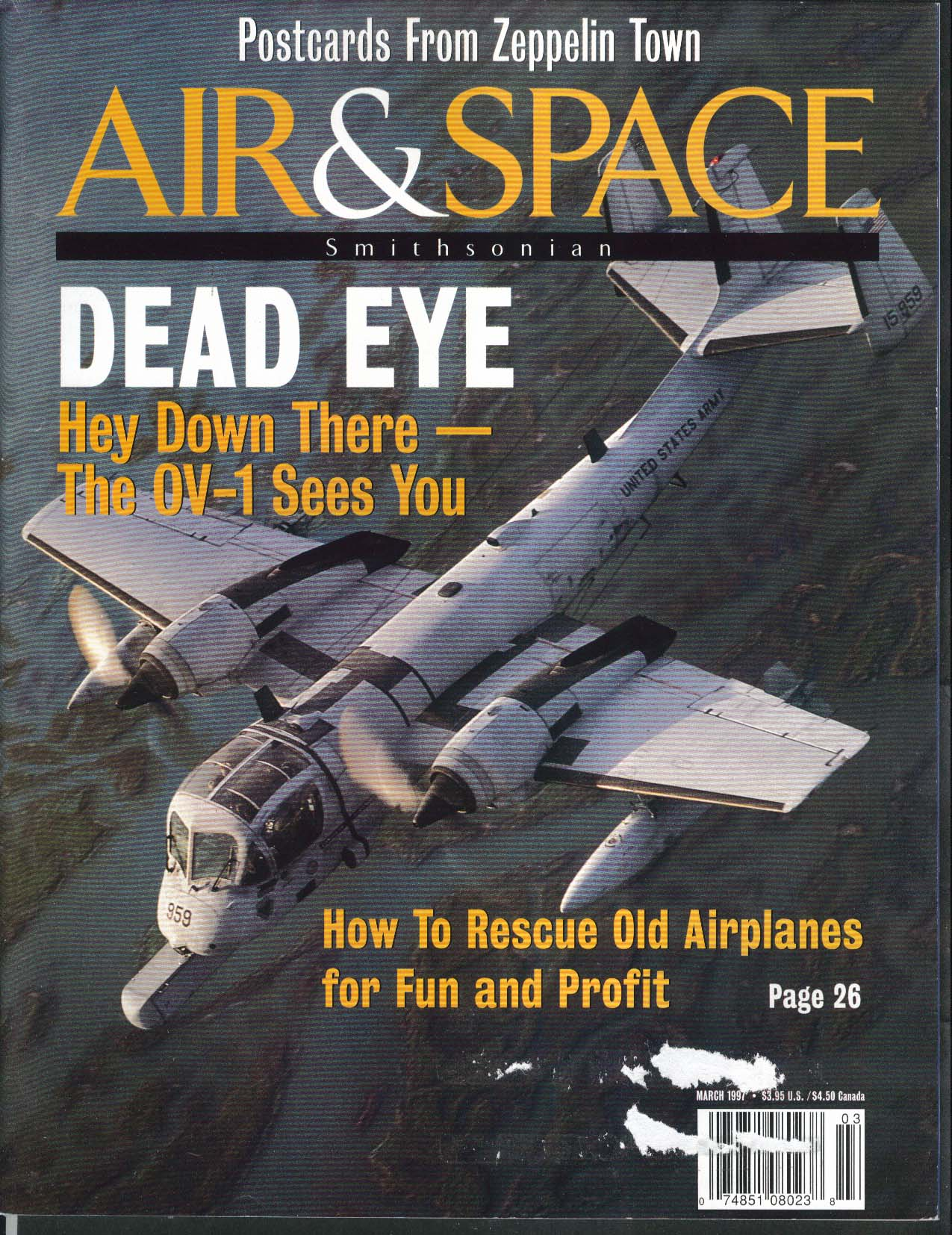 AIR & SPACE Smithsonian OV-1 Gary Larkins Vandenberg Space Launch Complex 3 1997