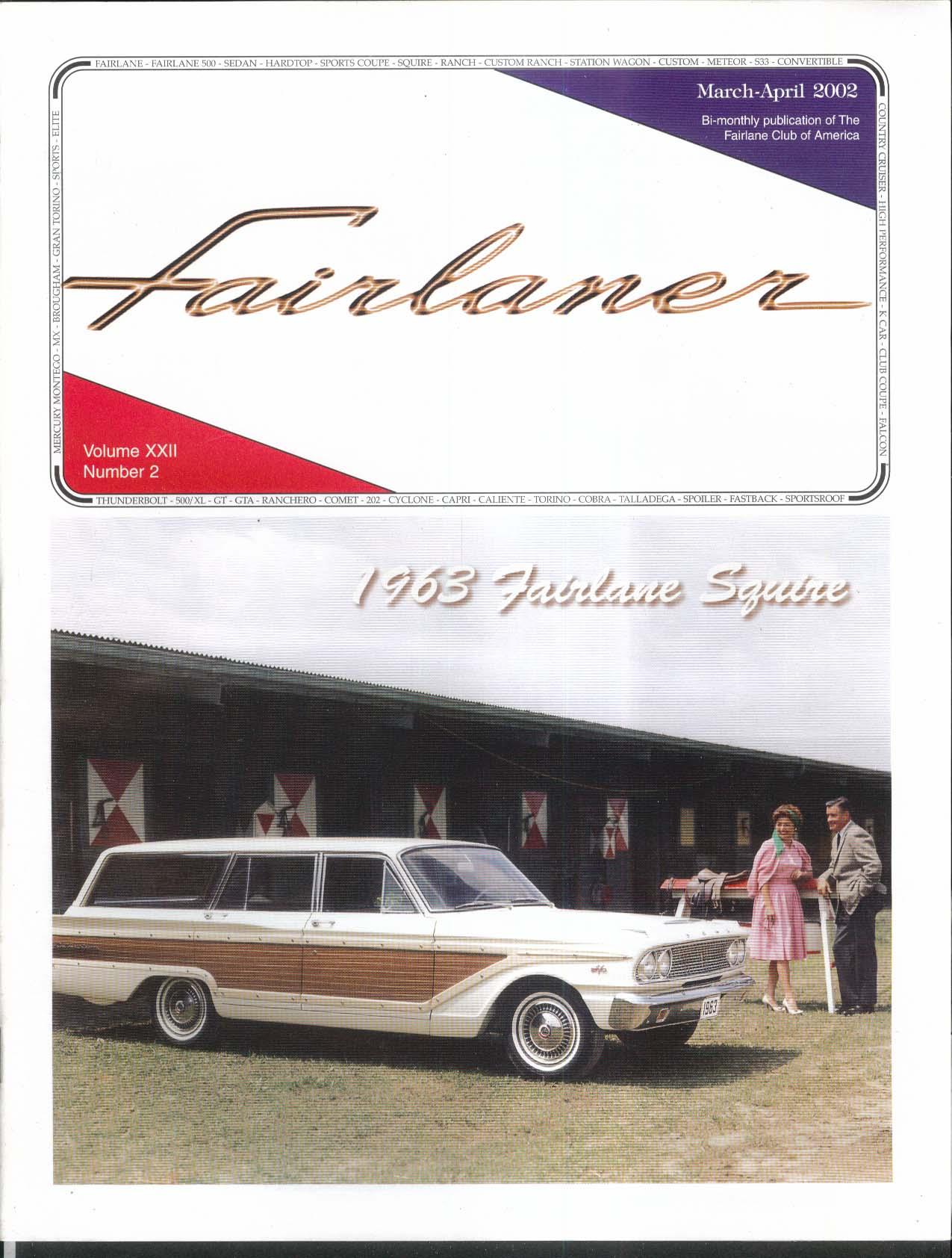 Fairlaner Ford Fairlane Club  Squire Autolite