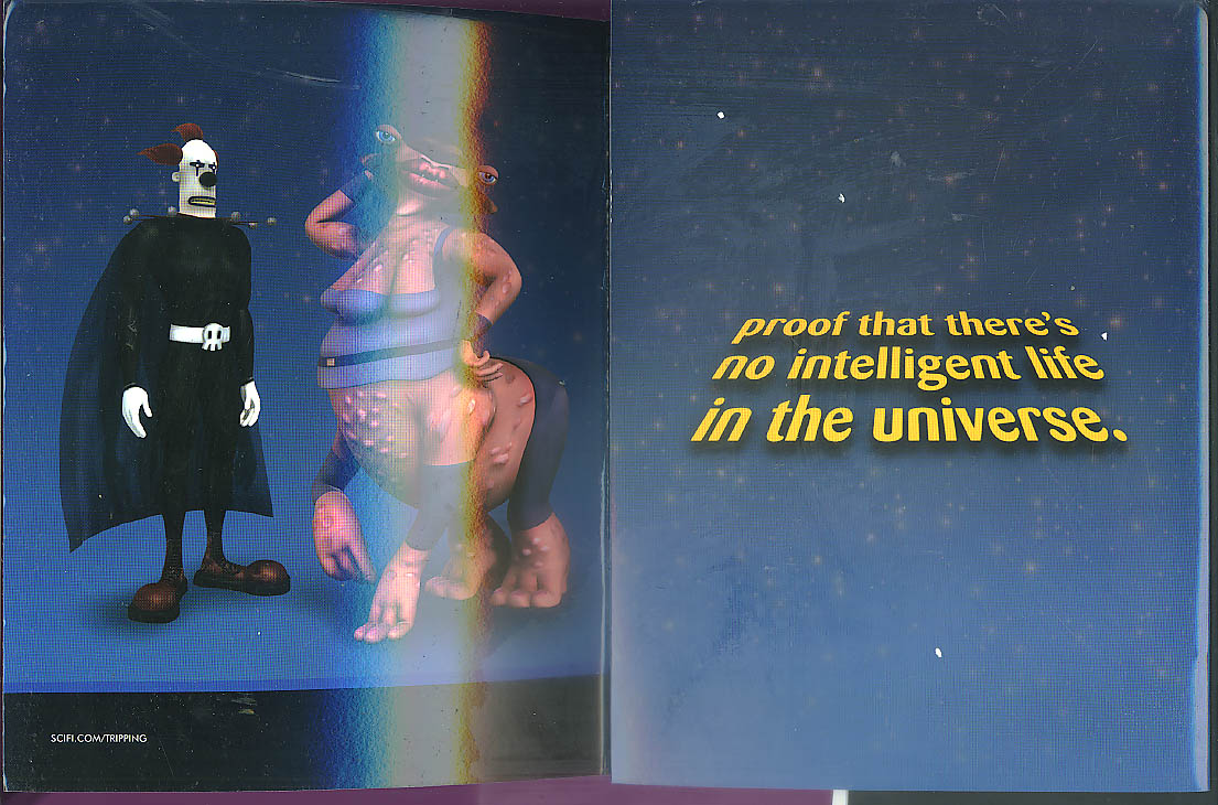 Tripping the Rift Sci-Fi Channel promotion kit with stickers 2004