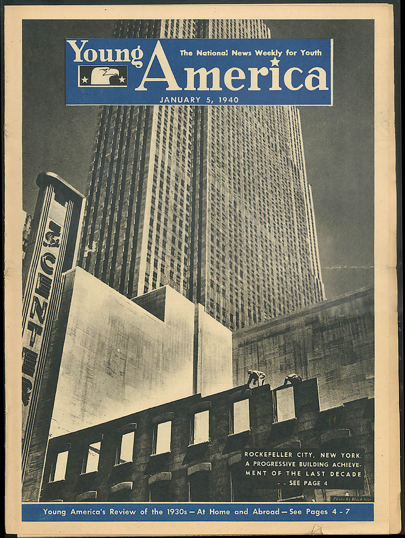 YOUNG AMERICA 1930s News in review; 1939 sports champs 1/5 1940