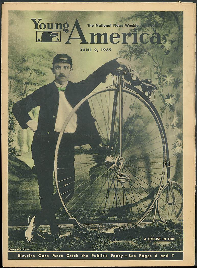 YOUNG AMERICA bicycling Joe Gordon Paul Muni as Juarez 6/2 1939