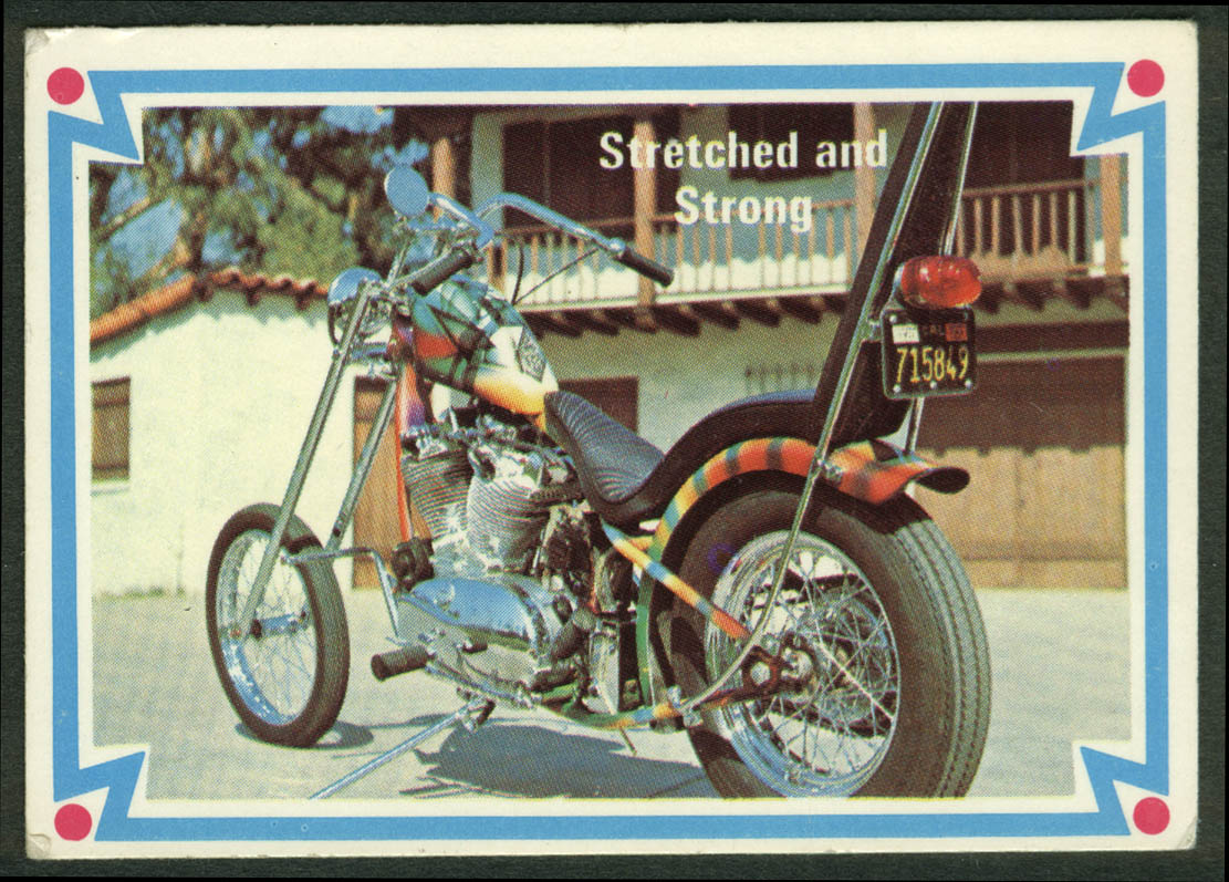 Don Jenkins 1962 Harley-Davidson Sportster Stretched & Strong motorcycle card 22