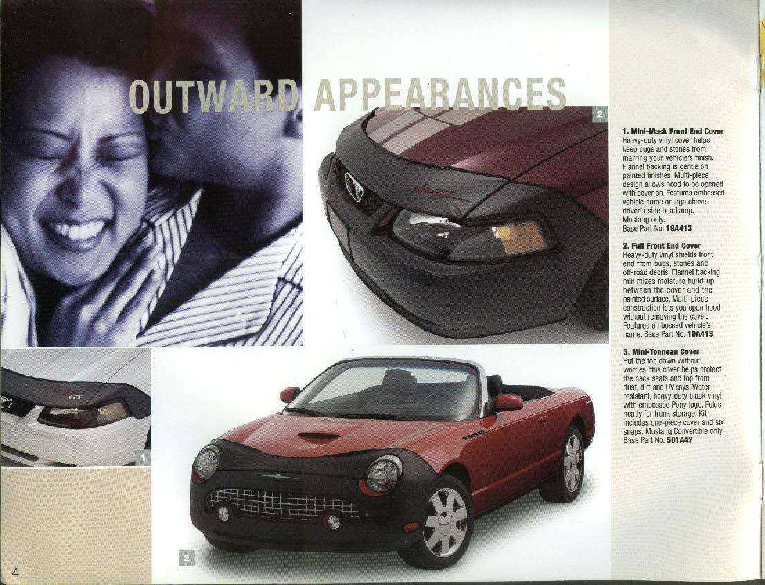 2004 Ford Mustang & Thunderbird & SVT Cobra Accessories brochure