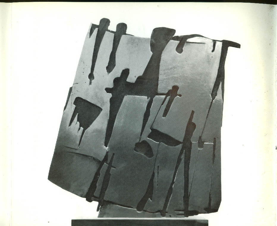 Pietro Consagra Sculpture Exhibit folder Staempfli NY 1962