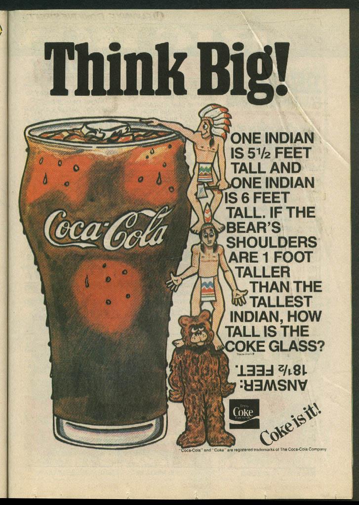 Adventures of the Big Boy #337 comic book Abdow's Restaurant 5 1985 Coca-Cola ad