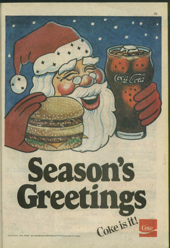 Adventures of the Big Boy #344 comic book Abdow's Restaurant 12 1985 Coca Cola