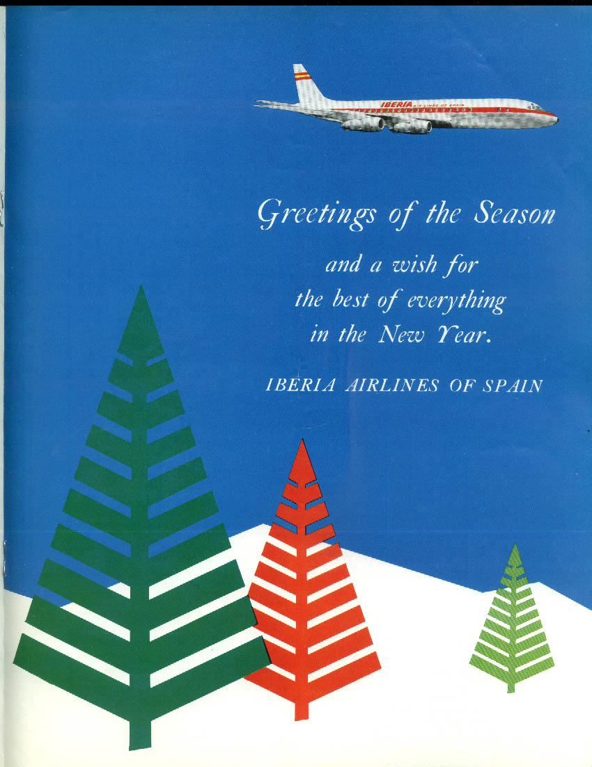 Iberia Air Lines of Spain NEWS CAPE airline newsletter Fall 1966