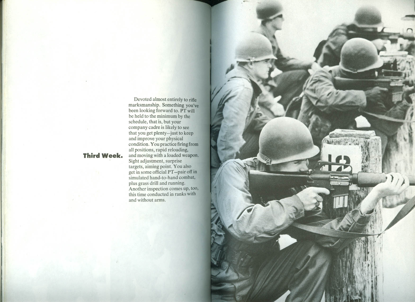 US Army The 8-Week Challenge recruitment brochure 1971