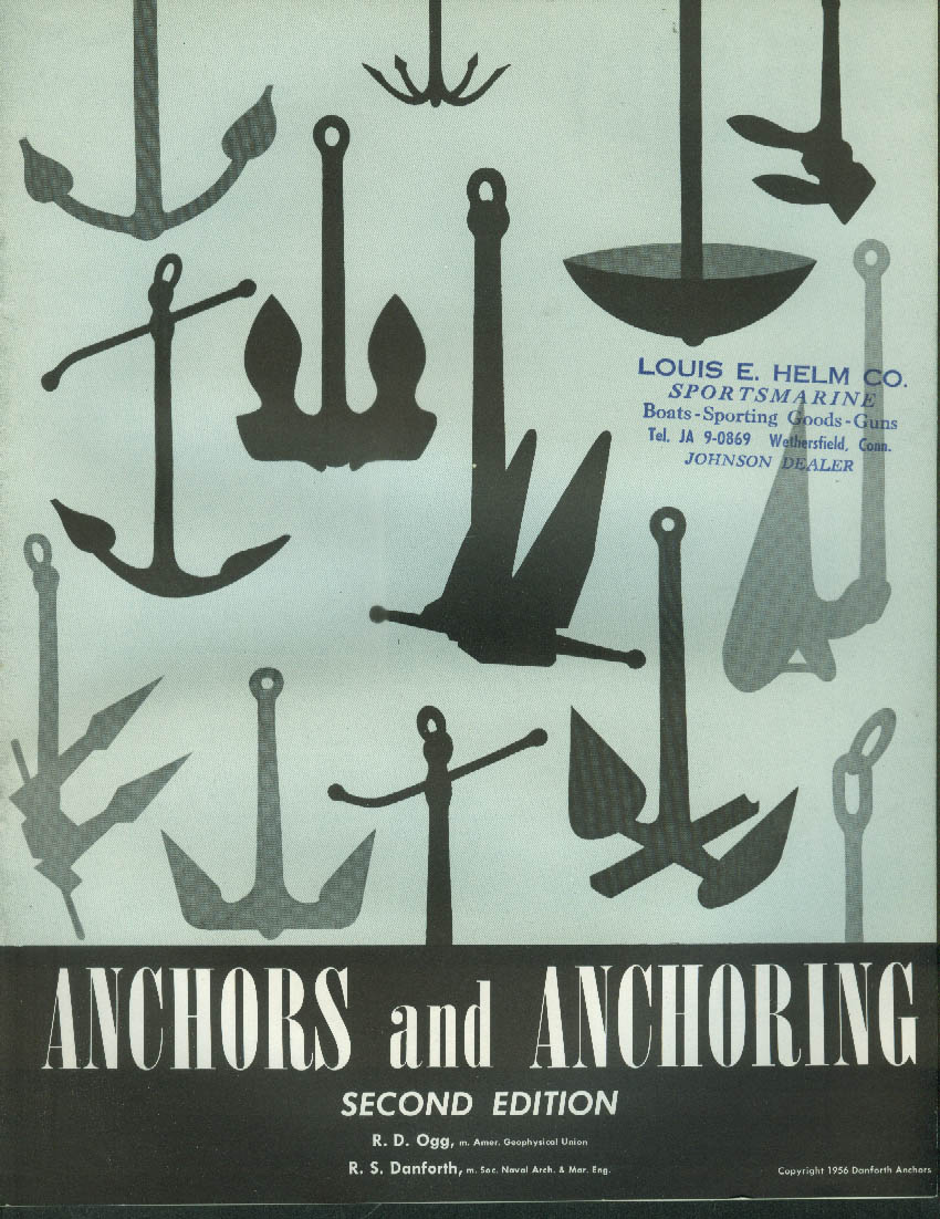 Danforth Anchors & Anchoring Guide 2nd edition 1956 1957