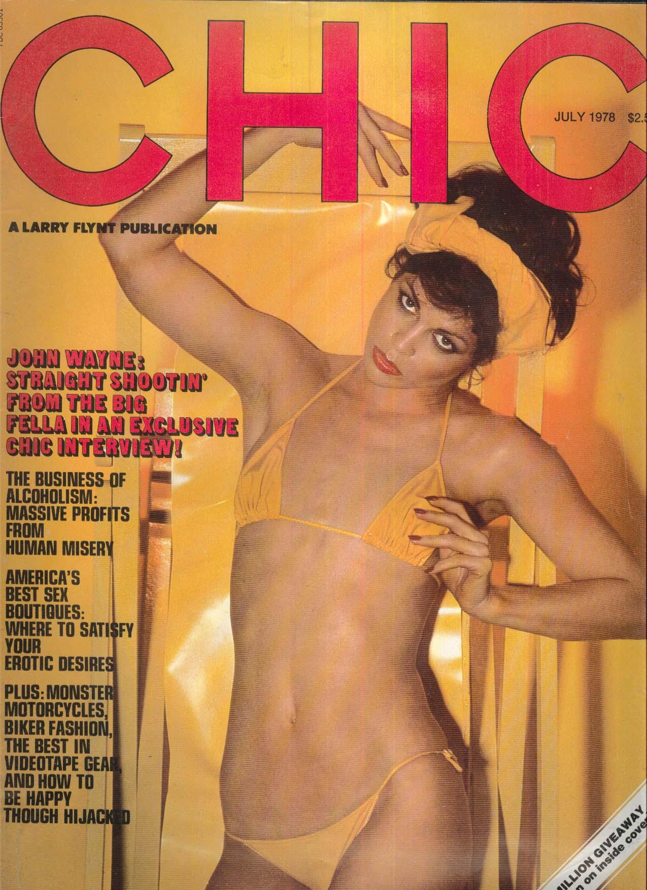 CHIC John Wayne Suze Randall Elliot Mintz 7 1978