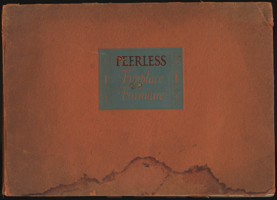 Peerless Fireplace Furniture trade catalog #27 Louisville KY ca 1939