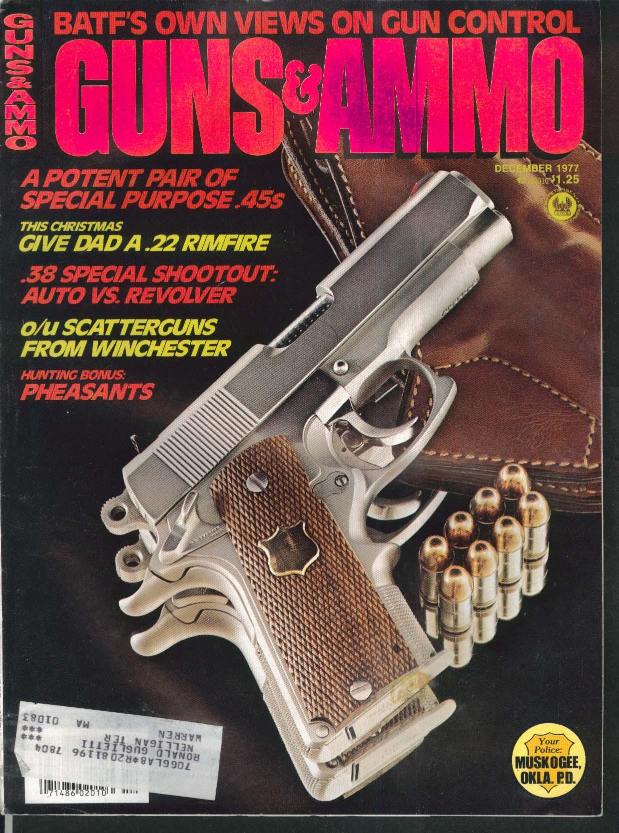 GUNS & AMMO SIG 210-6 Feinwerkbau 80 Winchester 12 1977