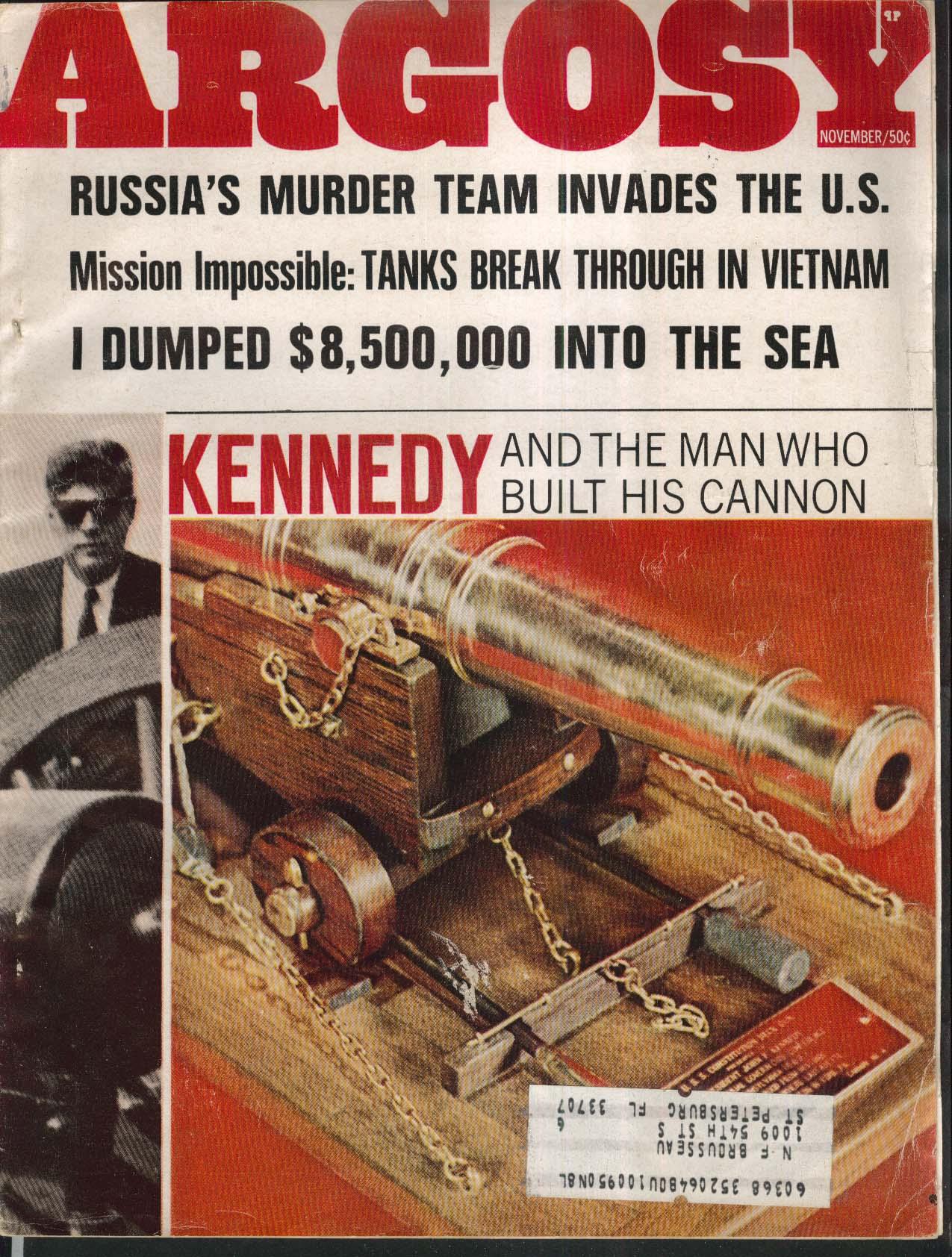 ARGOSY Russia Murder Vietnam Tanks Kennedy Herb Bricker Pete Kuhlhoff 11 1967