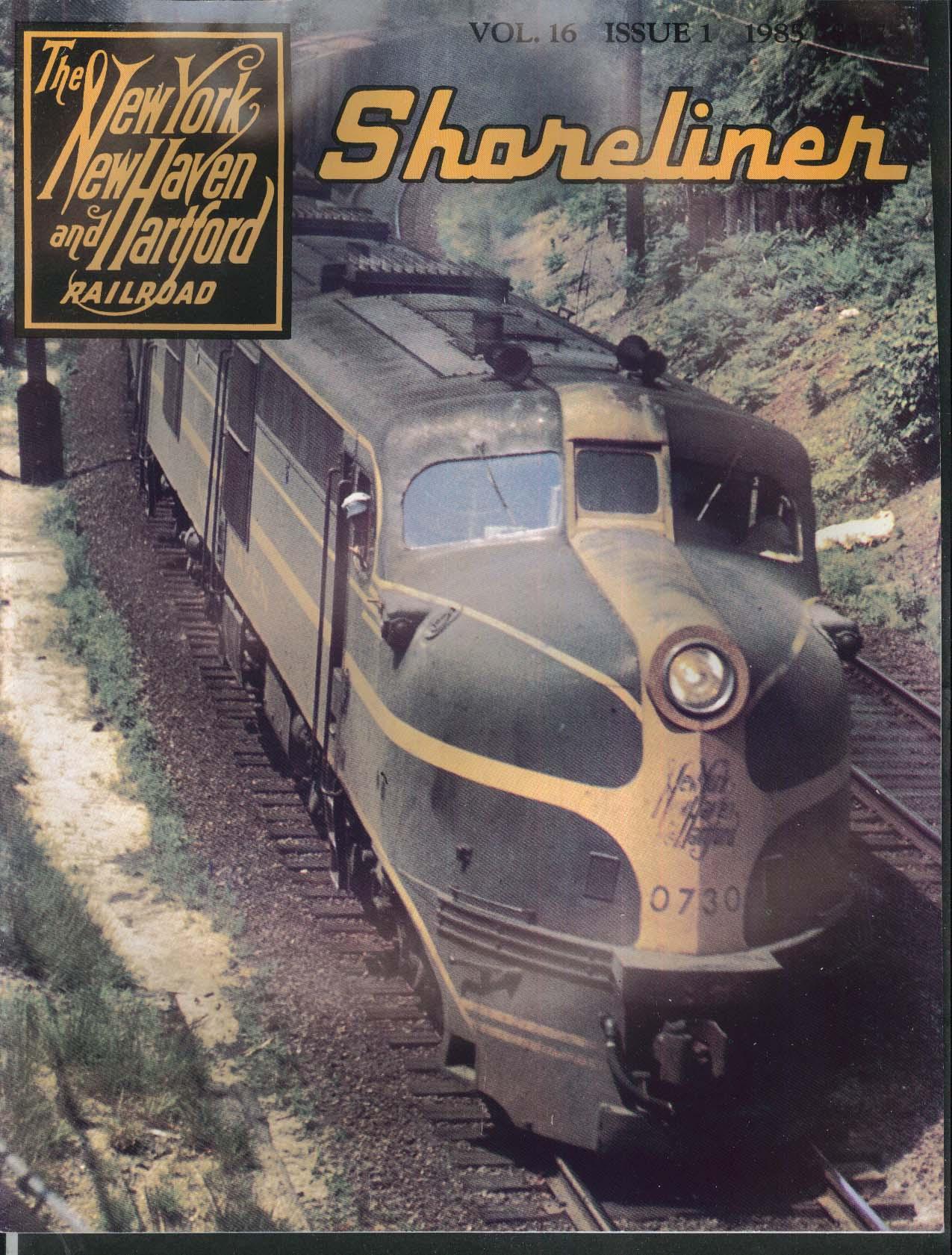 SHORELINER V16n1 New Haven DEY-2 Ingersoll-Rand EP-3 17100 Transformer 1985