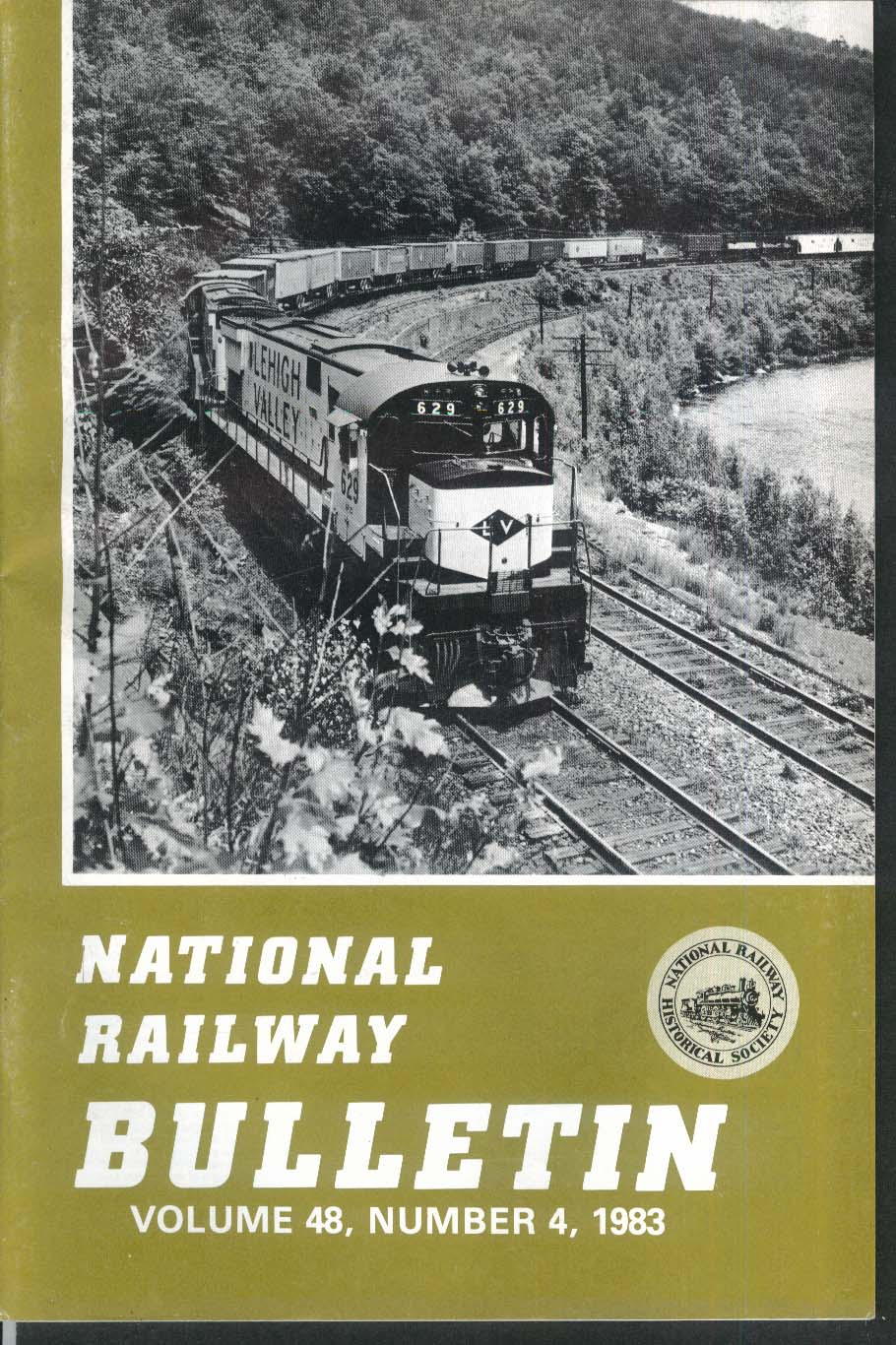 NATIONAL RAILWAY BULLETIN V48n4 Banner Blue Steam W F Allen Potomac 1983