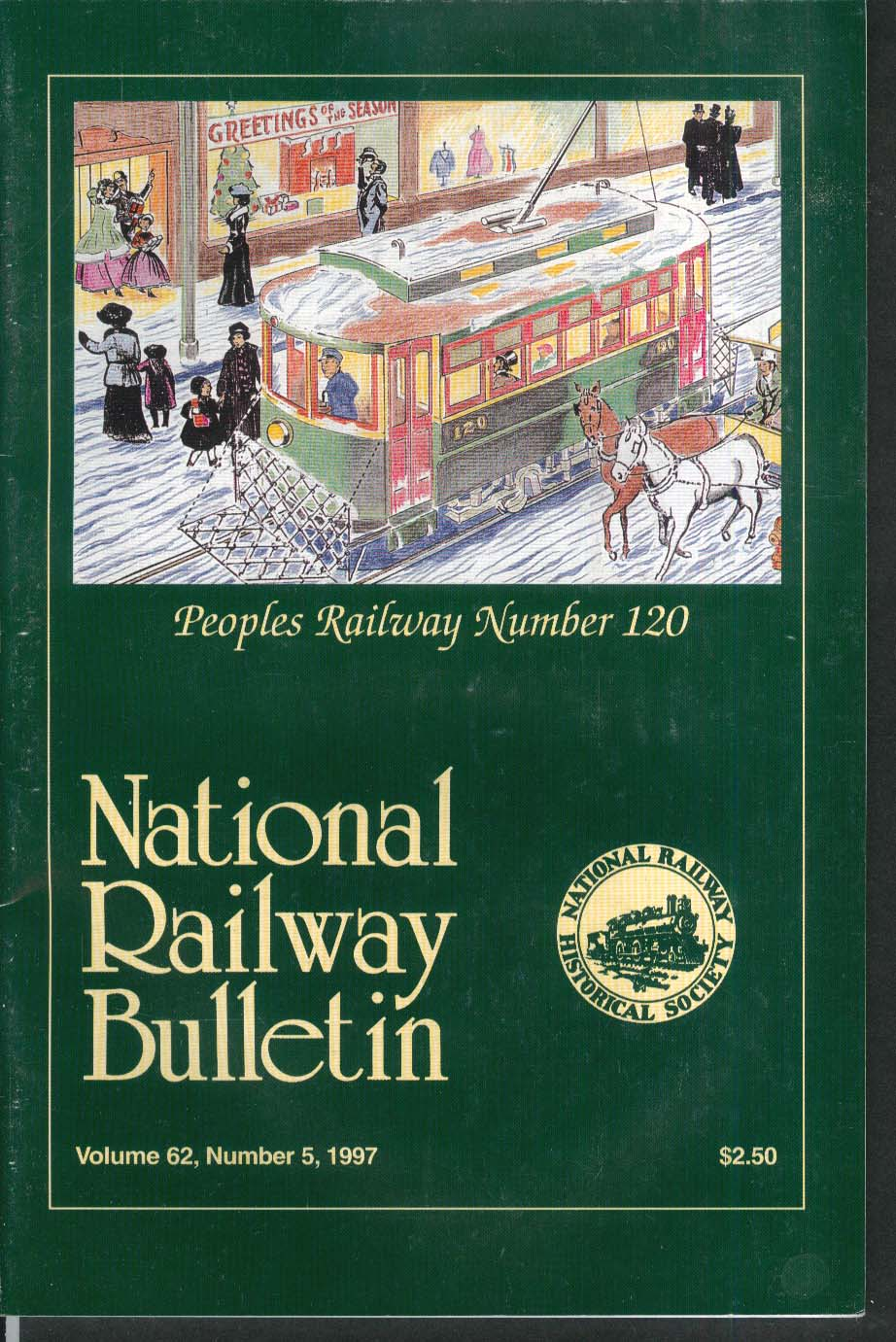 NATIONAL RAILWAY BULLETIN V62n5 Santa Fe 1800-Class Raymond A Wood 1997