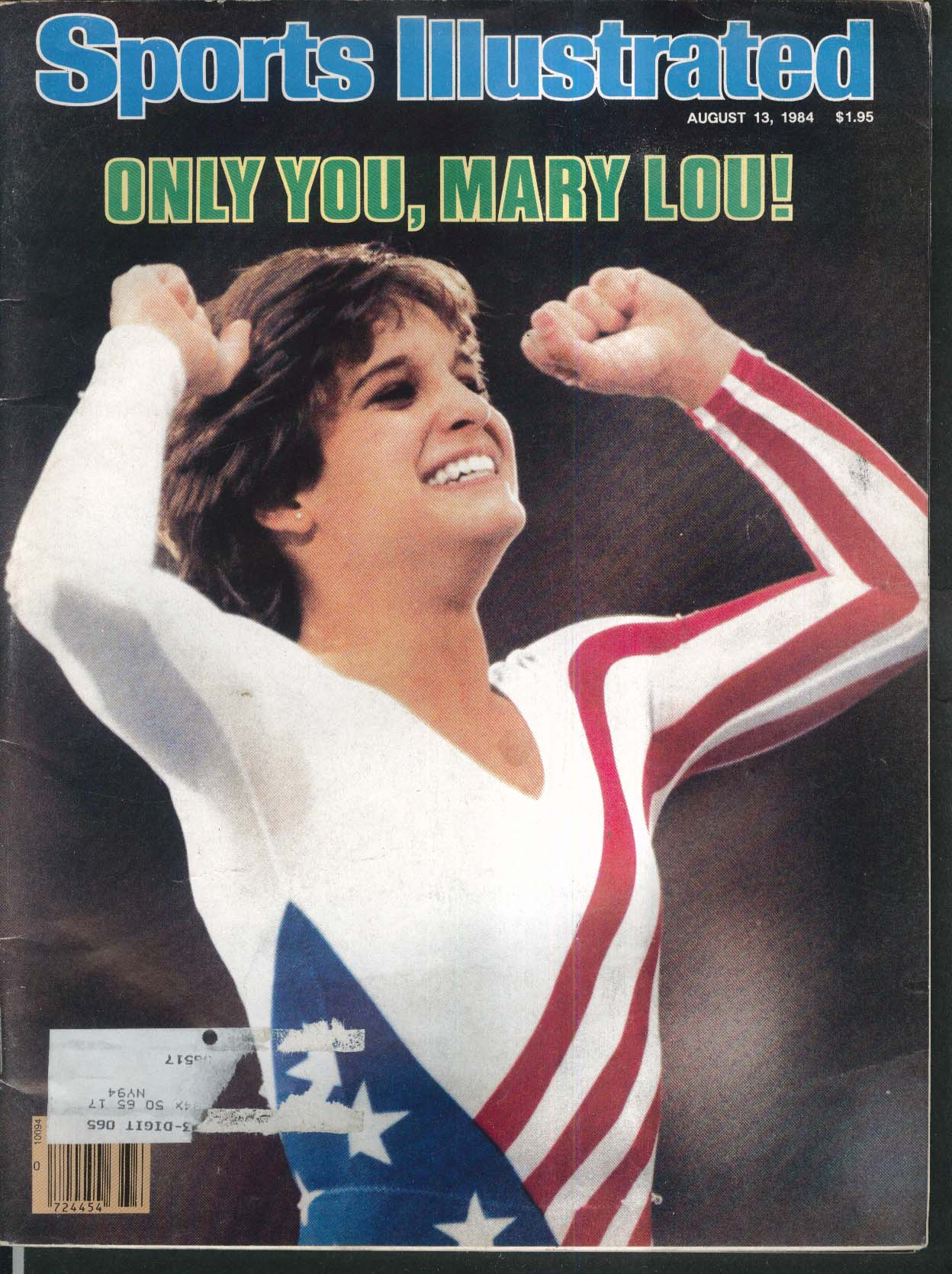 SPORTS ILLUSTRATED Mary Lou Retton Carl Lewis Evelyn Ashford ++ 8/13 1984
