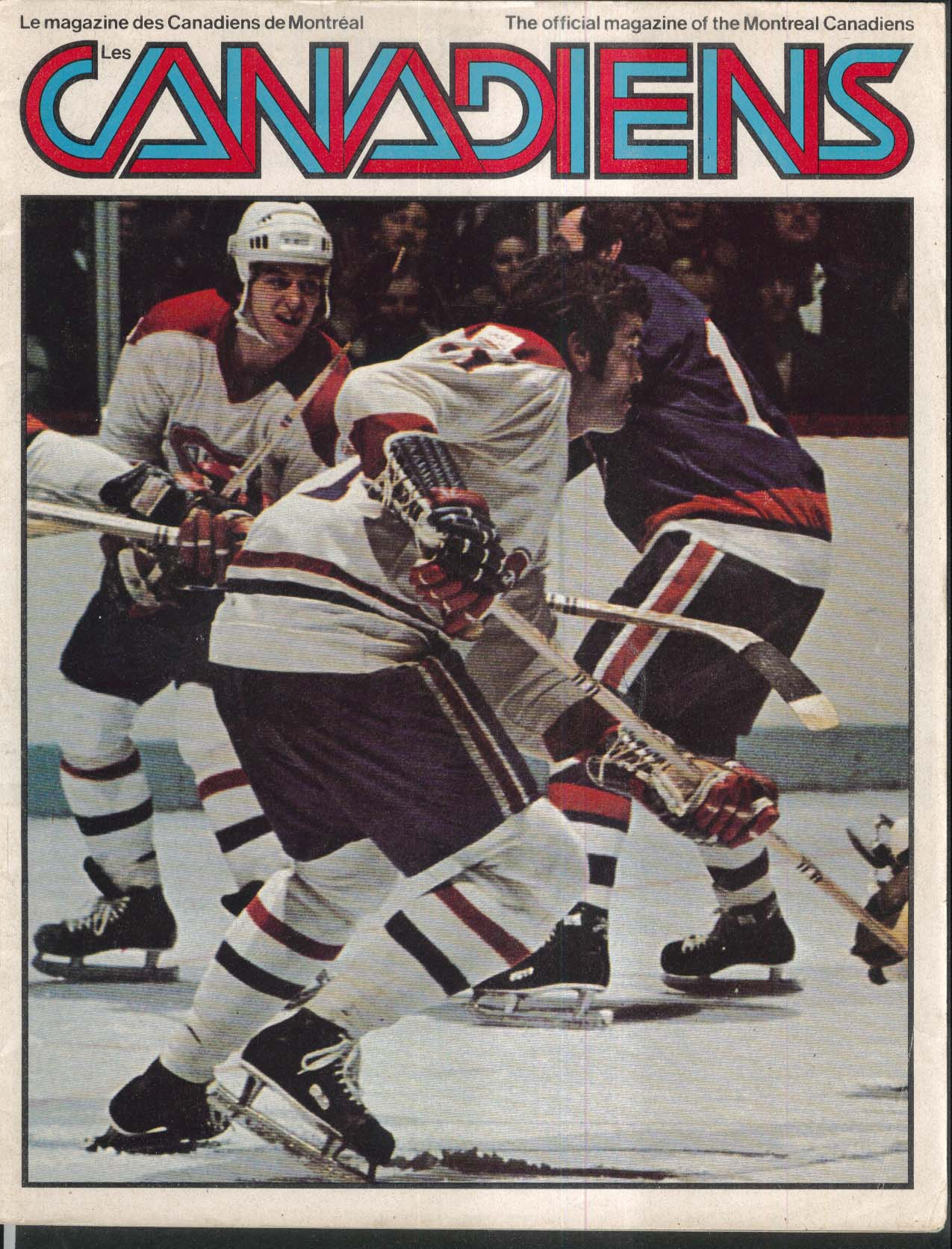 Montreal CANADIENS Official Magazine 1976-1977 Schedule/Roster