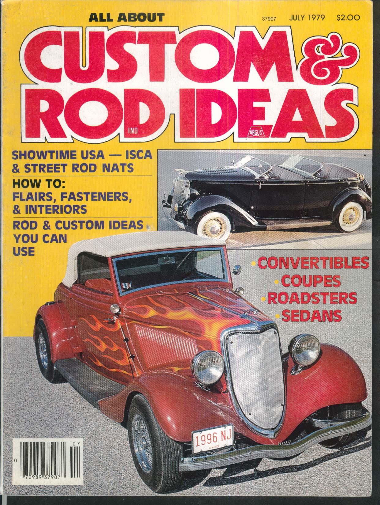 CUSTOM & ROD IDEAS Street Nationals International ISCA Cleveland Autorama 7 1979