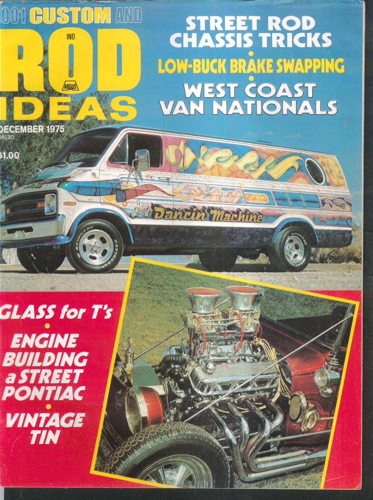 CUSTOM & ROD IDEAS Chassis Tricks West Coast Van Nationals Pontiac Build 12 1975