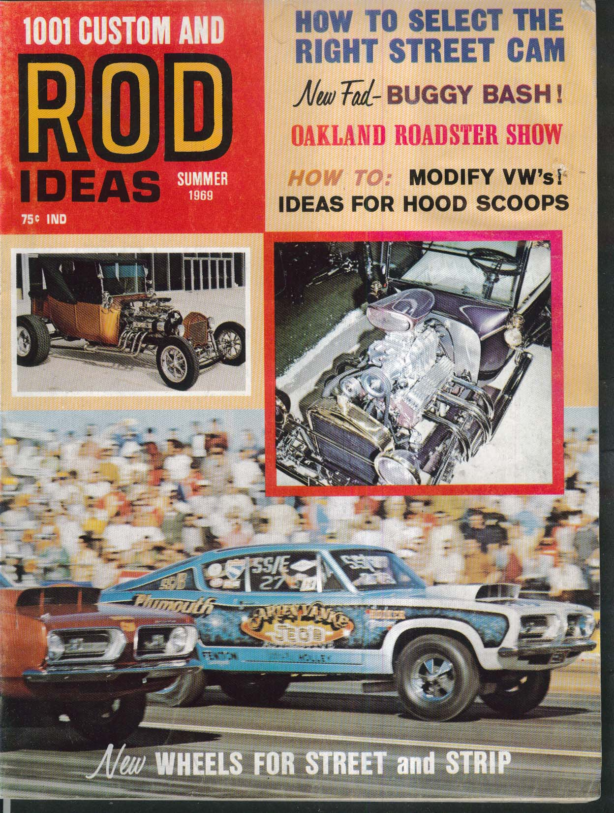 1001 CUSTOM & ROD IDEAS Volkswagen Modifications Oakland Roadsters + Summer 1969