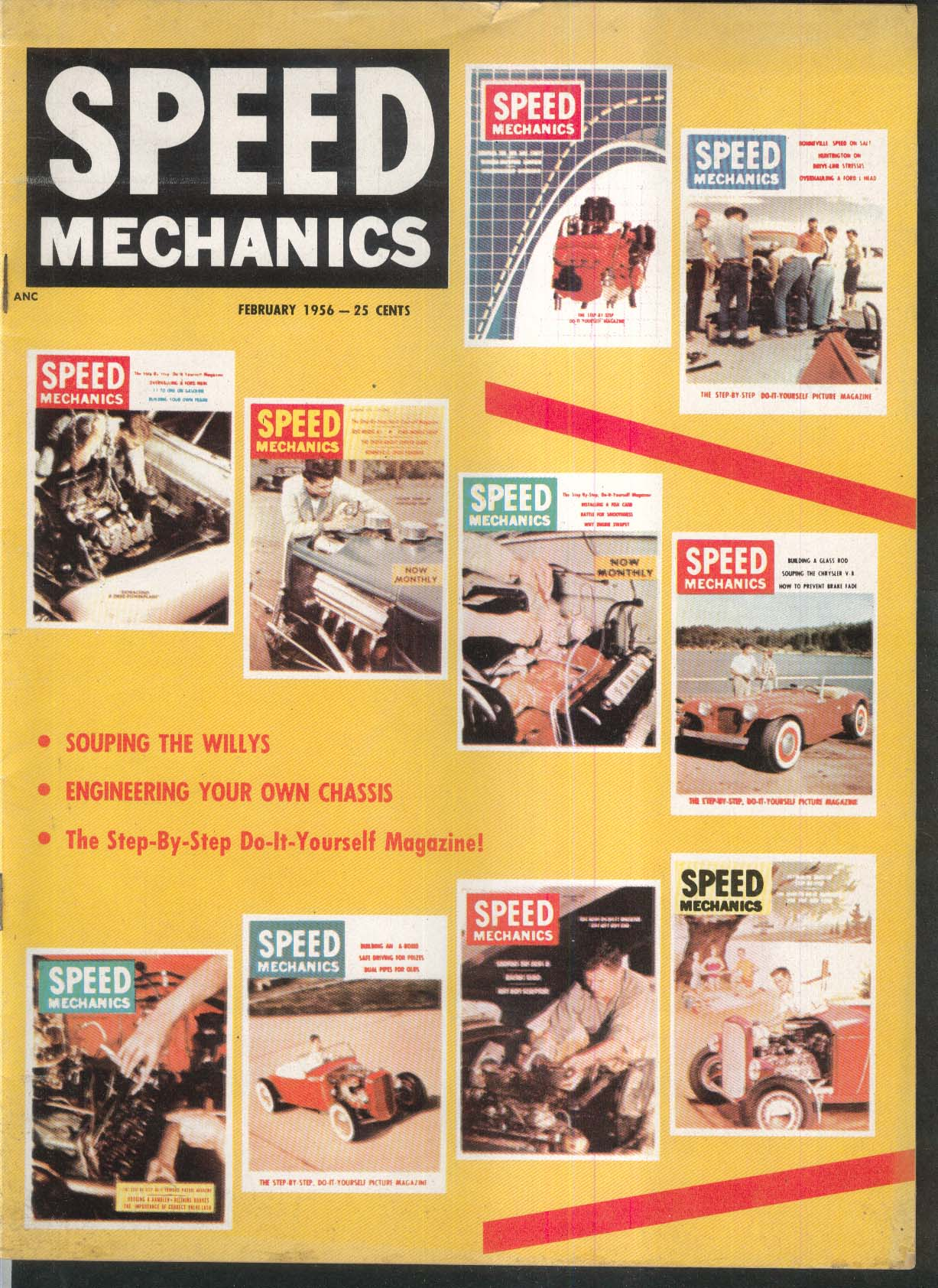 SPEED MECHANICS Willys; Cassis Engineering; Olds 88 Salvage 2 1956