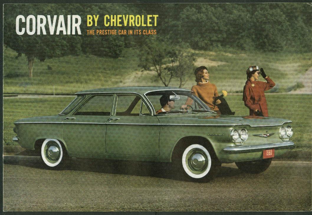 1960 Chevrolet Corvair sales brochure, revision 1
