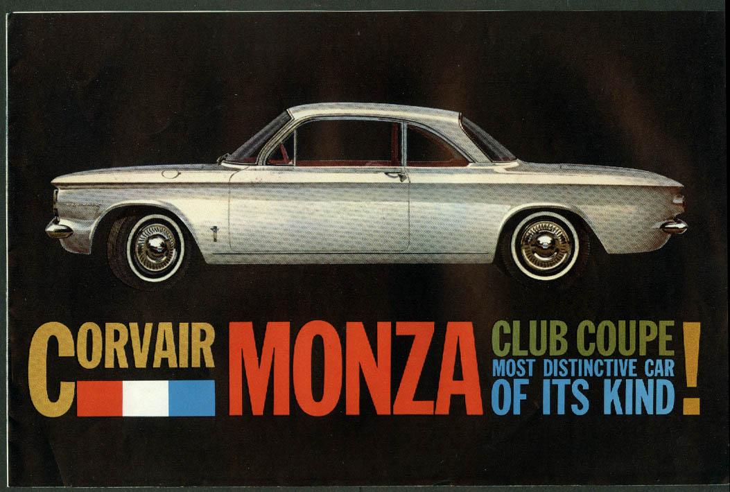 1960 Chevrolet Corvair Monza Club Coupe sales folder