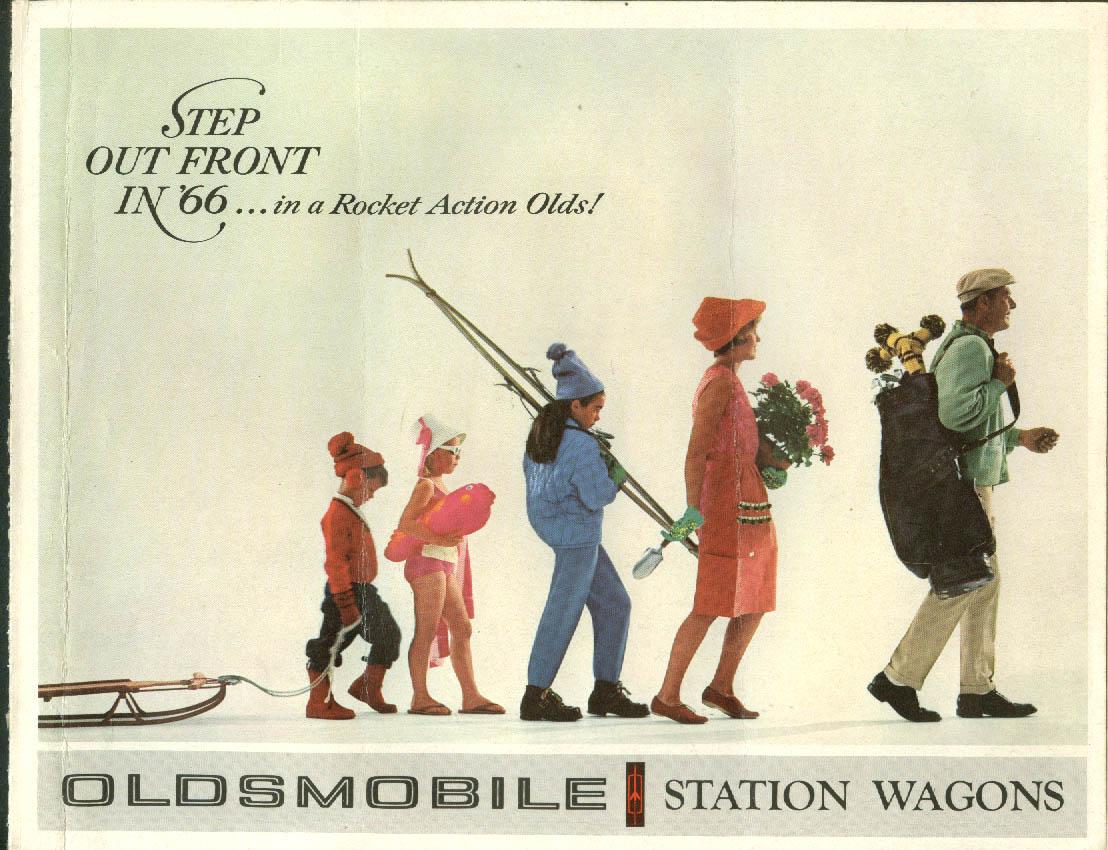 1966 Oldsmobile Station Wagons brochure Vista-Cruiser F-85