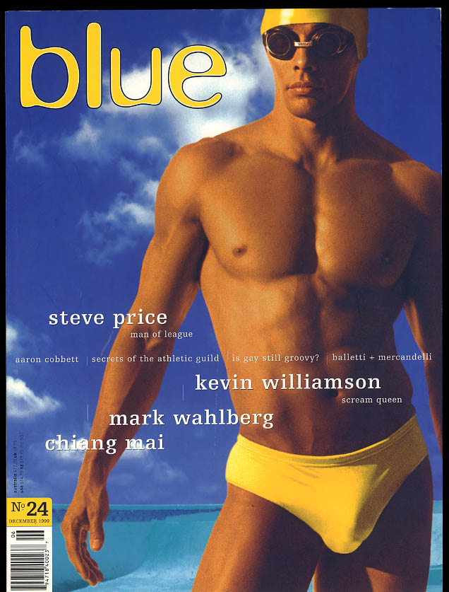 NOT ONLY BLUE Gay male erotica #24 12 1999 Mark Wahlberg Chiang Mai Steve Price