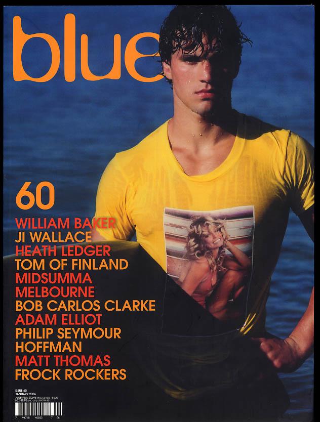 NOT ONLY BLUE Gay male erotica #60 1 2006 Heath Ledger Philip Seymour Hoffman +