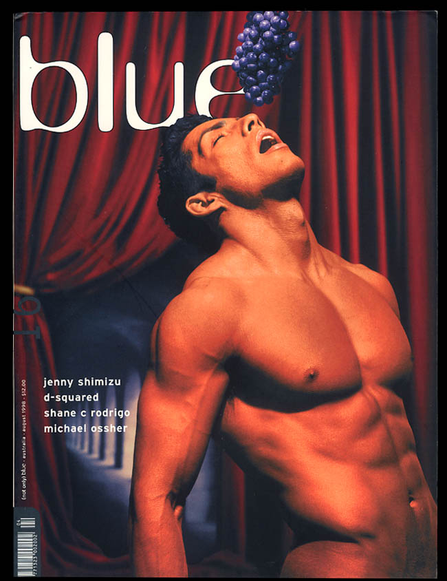 NOT ONLY BLUE Gay male erotica #16 8 1998 Shimizu Rodrigo Ossher D-Squared