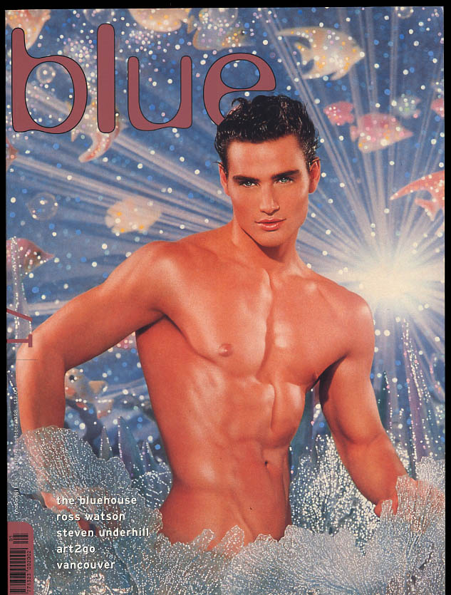 NOT ONLY BLUE Gay male erotica #17 10 1998 Bluehouse Ross Watson Underhill