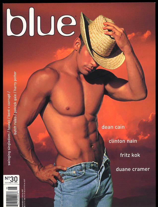 NOT ONLY BLUE Gay male erotica #30 12 2000 Dean Cain Nain Kok Duane Cramer