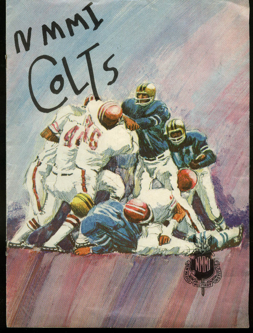 New Mexico Military Institute NMMI Colts Football Program 1973