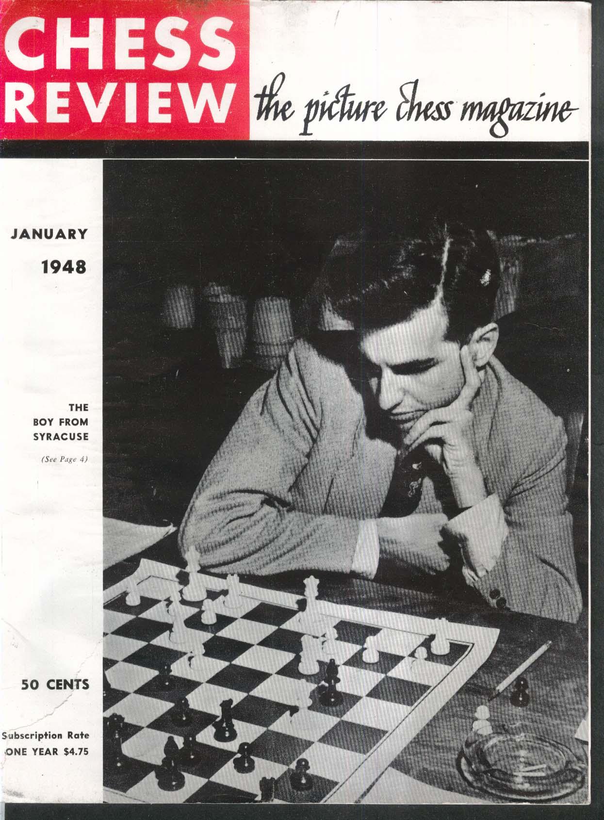 CHESS REVIEW Robert Byrne Julian Leavitt Chester Fell Laszlo Szabo 1 1948