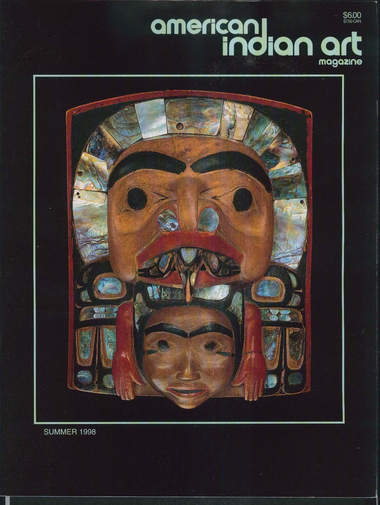 AMERICAN INDIAN ART Yuchi Ceremonial Clothing John Gwaytihl ++ Summer 1998