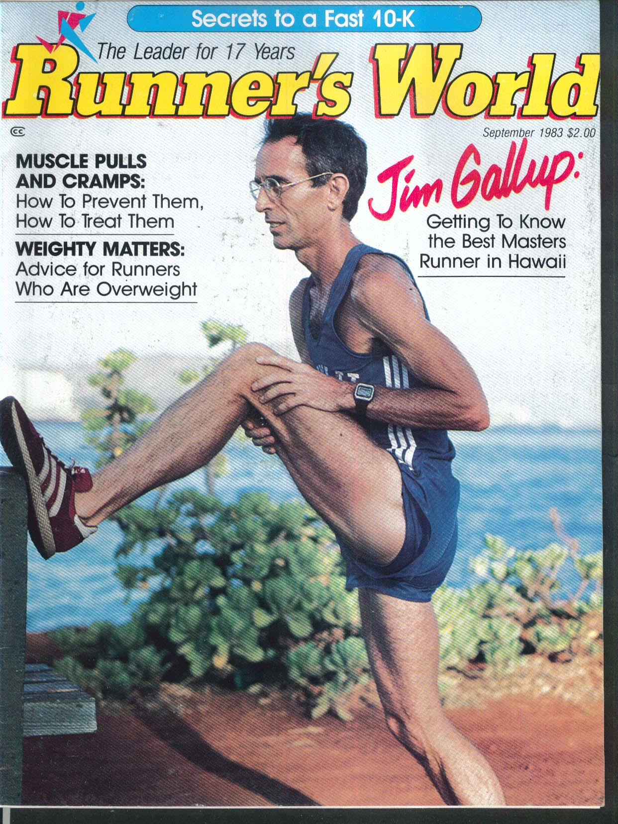RUNNER'S WORLD Jim Gallup 10K Training Stephani Shelton 9 1983