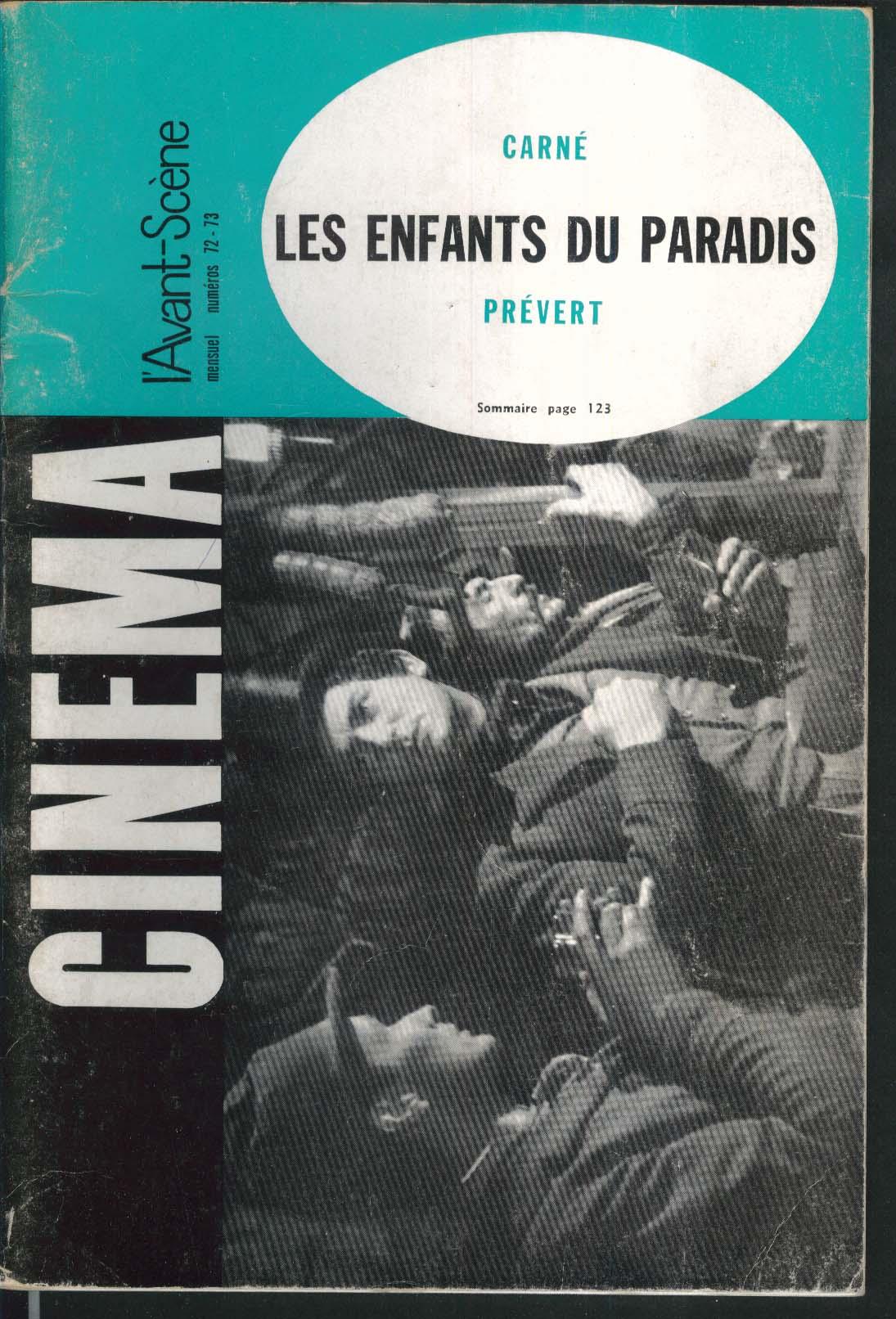 CINEMA #72-73 French-language movie magazine 1967