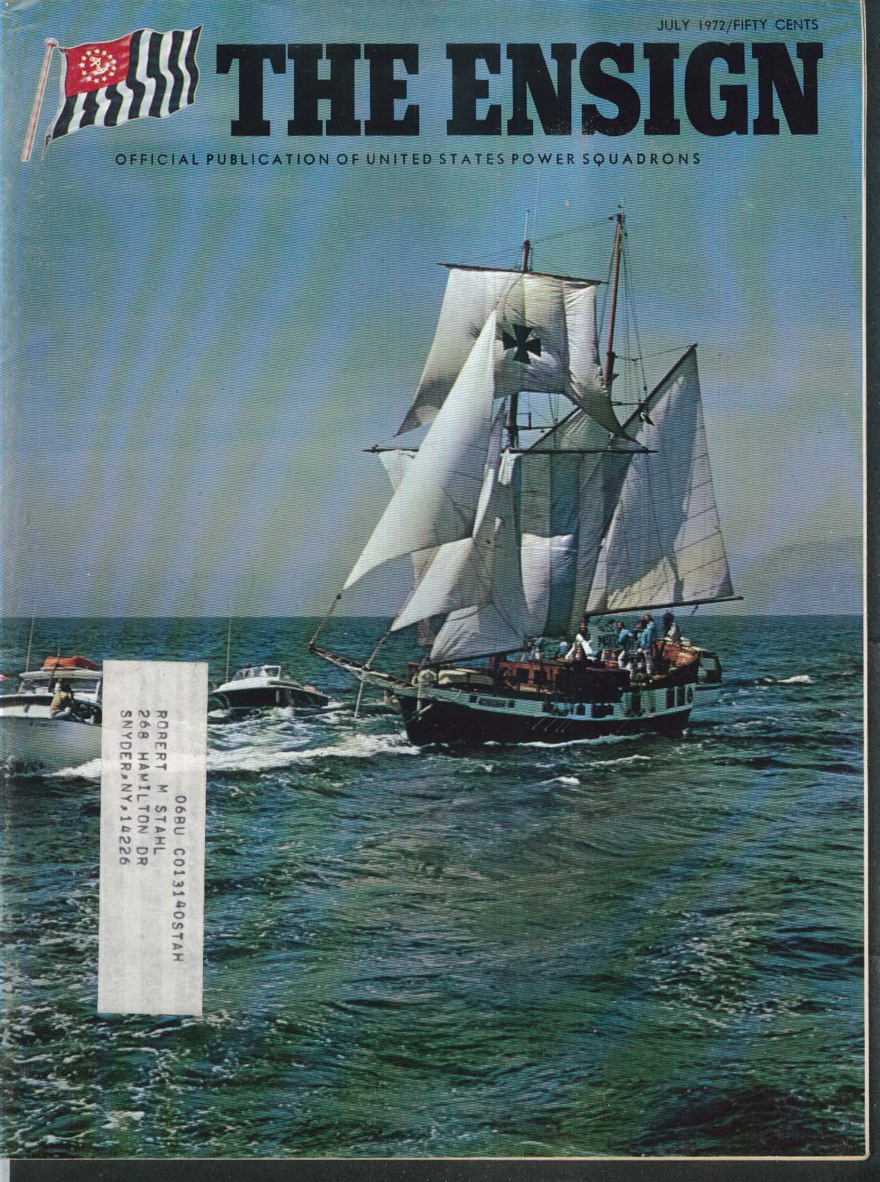 The ENSIGN African Queen Picture Boat Long Distance Cruising 7 1972