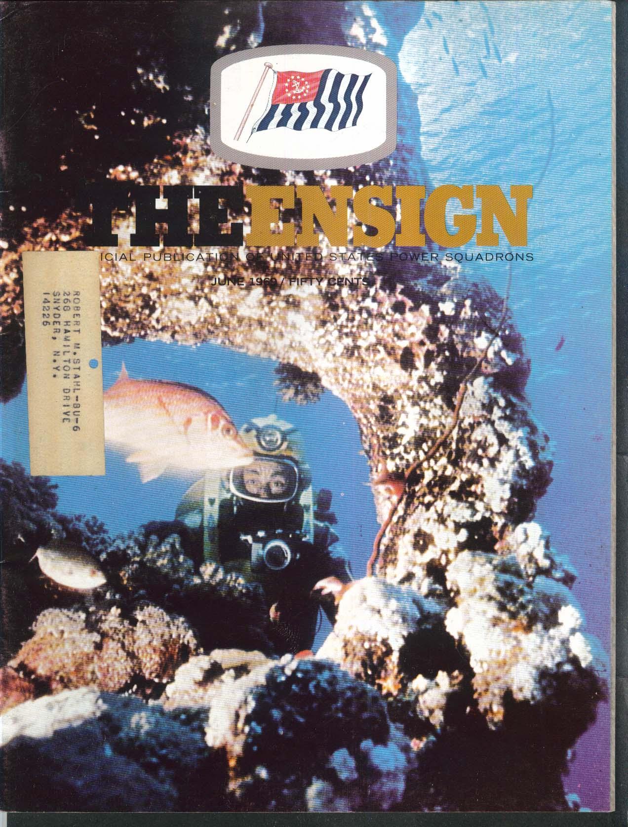 The ENSIGN Calypso Cousteau Bermuda 6 1969