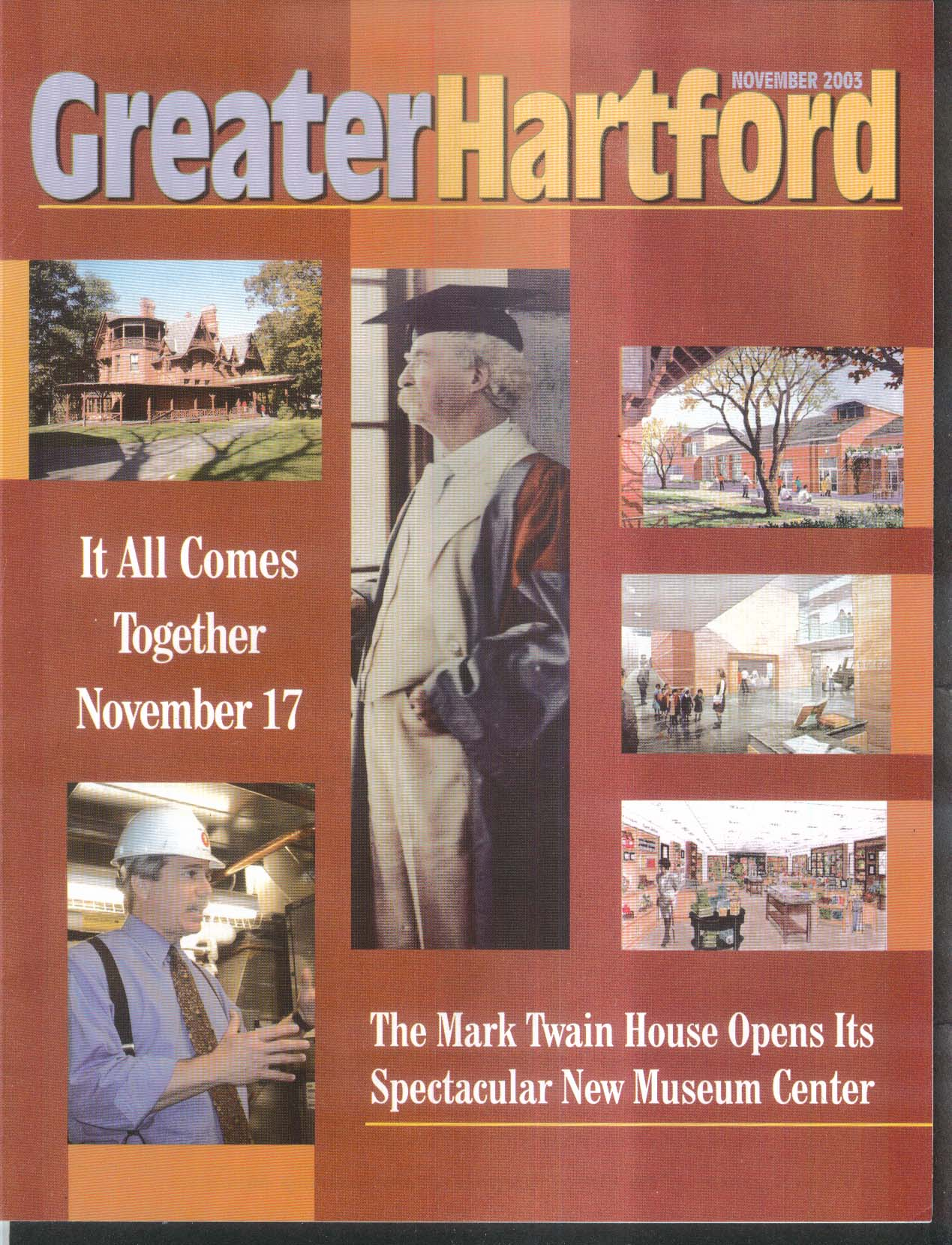GREATER HARTFORD Mark Twain House Museu Center Dr Lothar Candels 11 2003