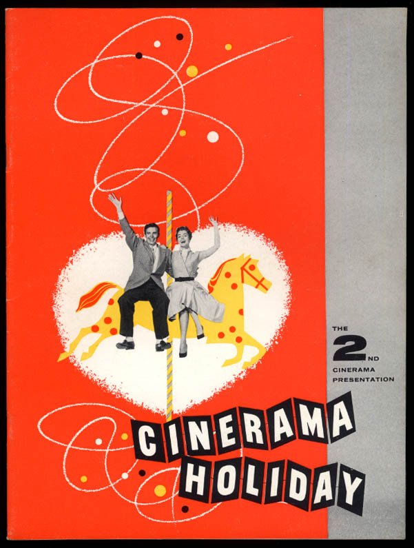 Cinerama Holiday souvenir film movie program 1955