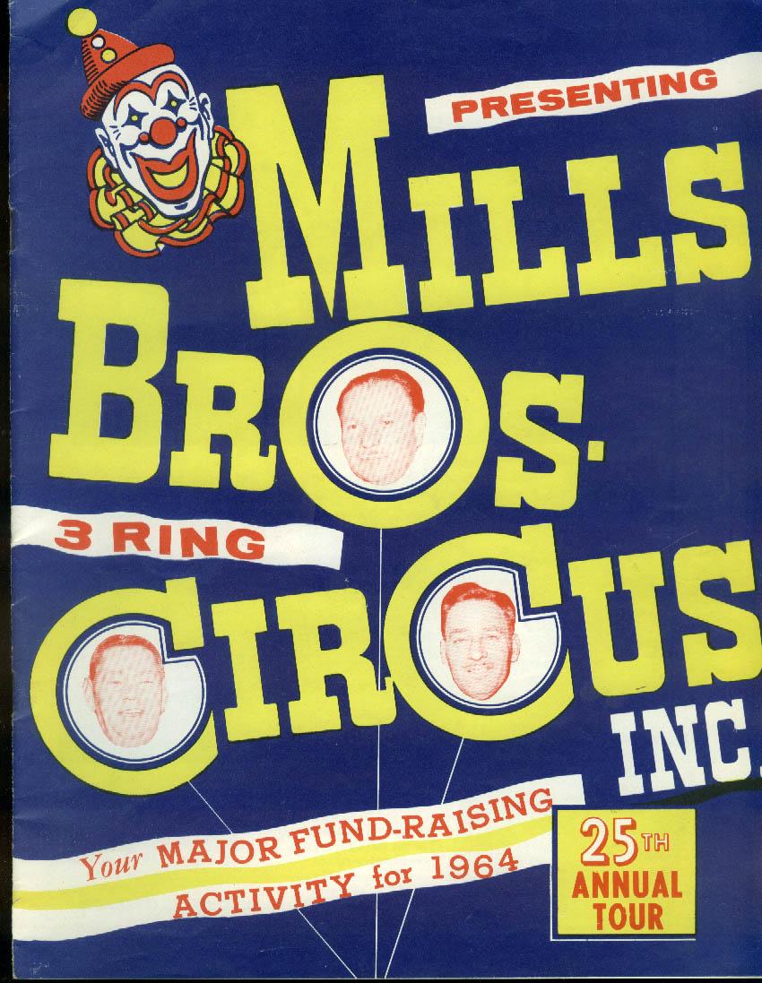 Mills Bros Circus Fund-Raising Prospectus for 1964 Season brochure