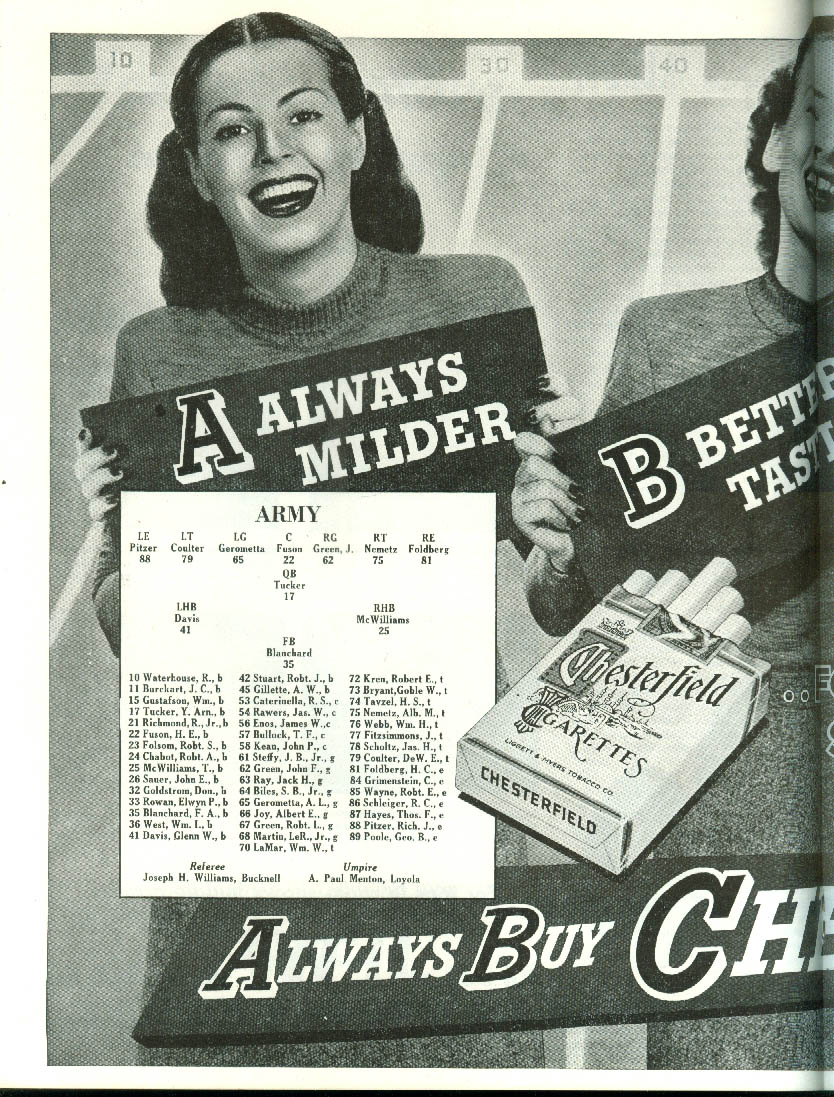 Image for Army at University of Pennsylvania Penn College Football Program 1945