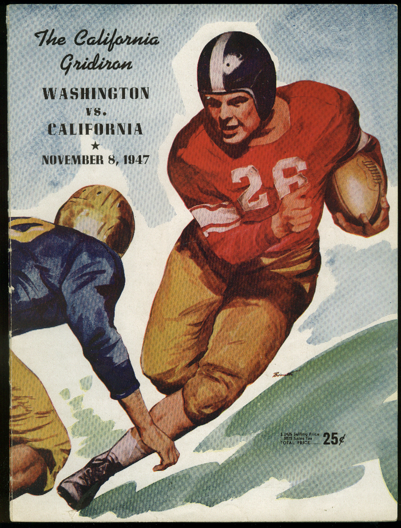 Image for Washington at University of California Cal College Football Program 1947