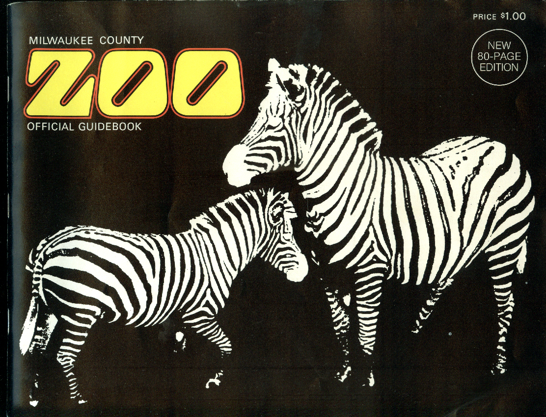 Milwaukee County Zoo Official Guidebook 1975